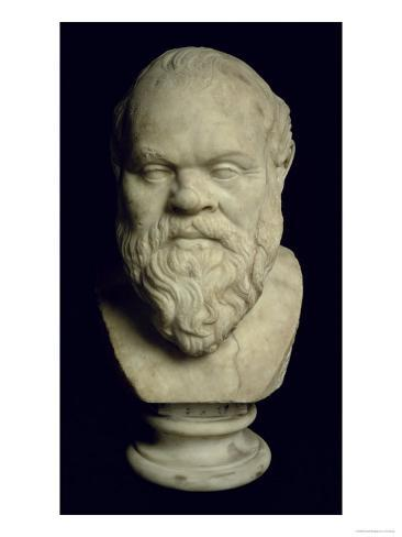 Bust of Socrates Giclee Print