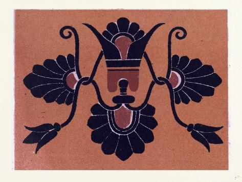 Greek Ornament and Etruscan Ornament Stampa giclée