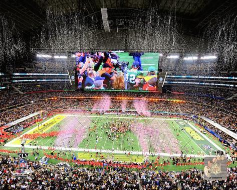 Green Bay Packers Celebrate Super Bowl XLV at Cowboys Stadium Photo