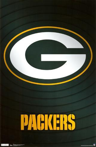 Green Bay Packers Logo Poster