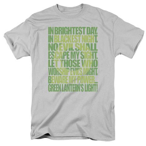 Green Lantern - Green Lantern Oath T-Shirt