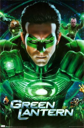Green Lantern - Group Poster