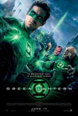 Green Lantern (Ryan Reynolds, Blake Lively, Peter Sarsgaard) Movie Poster Double-sided poster
