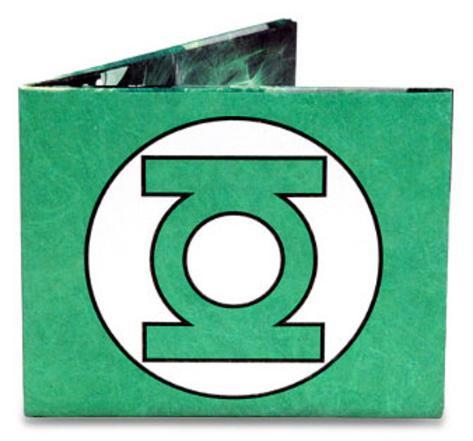 Green Lantern Tyvek Mighty Wallet Wallet