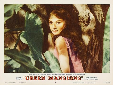 Green Mansions, 1959 Art Print