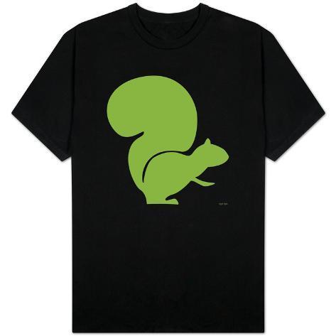 Green Squirrel T-Shirt