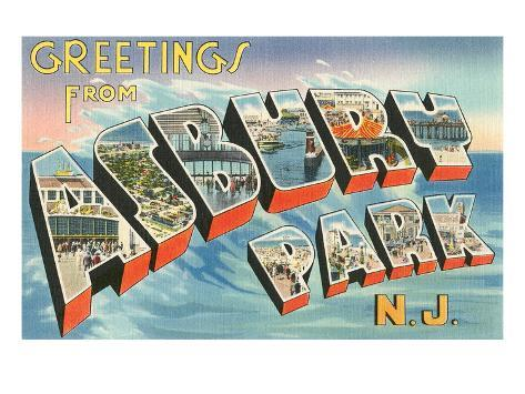 Greetings from asbury park new jersey posters at allposters m4hsunfo