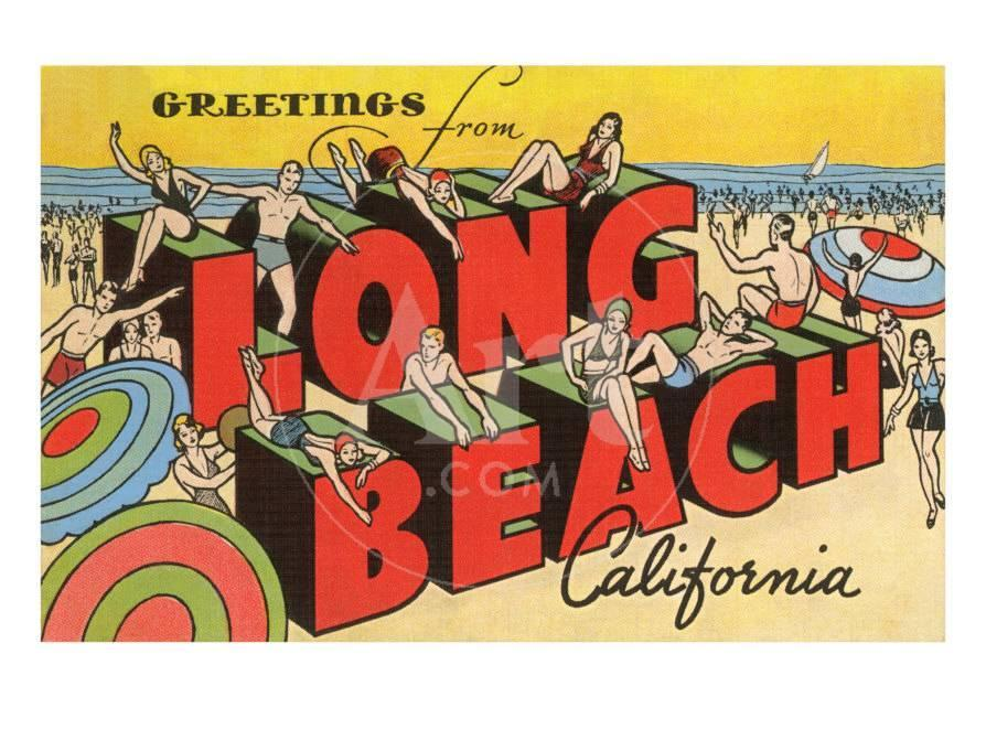 Greetings from long beach california prints at allposters m4hsunfo