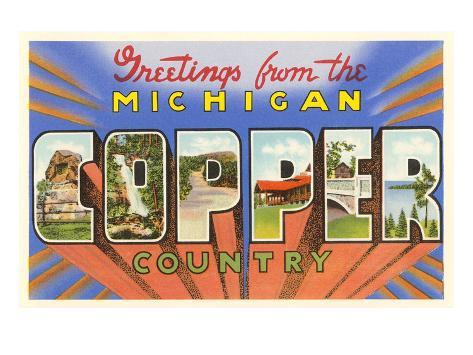 Greetings from michigan copper country prints at allposters m4hsunfo