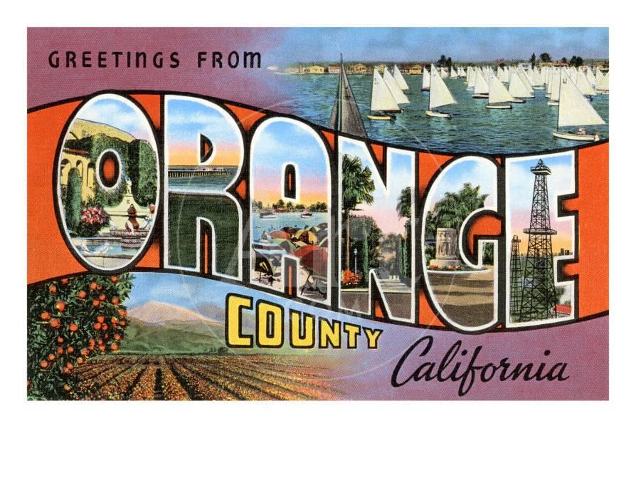 Greetings from orange county california prints at allposters m4hsunfo