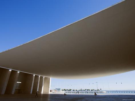 Architectural Feature at Parque Das Nacoes Designed for Expo 98, Lisbon, Portugal Photographic Print