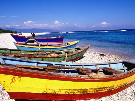 Baharona Fishing Village, Dominican Republic, Caribbean Photographic Print