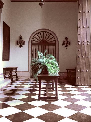 El Convento Hotel, Lobby, San Juan, Puerto Rico Photographic Print