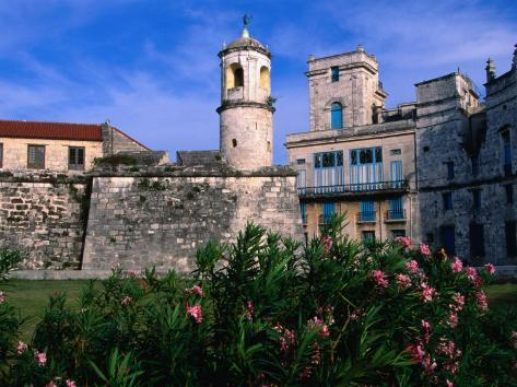 The Old Walled Fortress City of Old Havana, Havana, Cuba Photographic Print