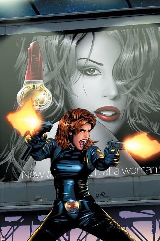 Black Widow No.3 Cover: Black Widow Poster