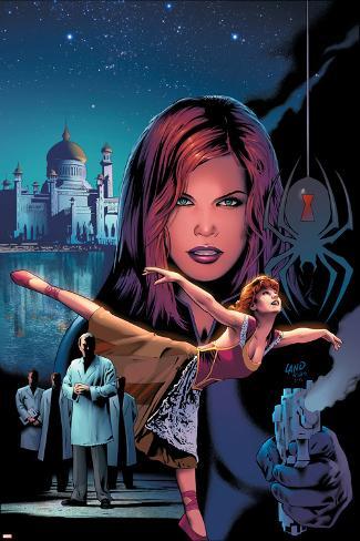 Black Widow No.4 Cover: Black Widow Poster