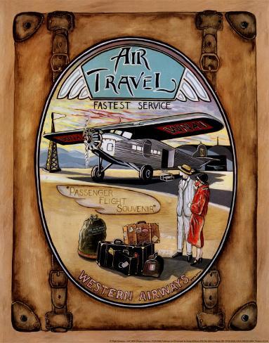 Flight Souvenir Art Print