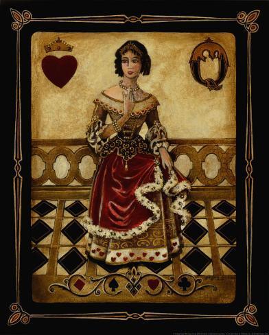 Harlequin Queen Art Print