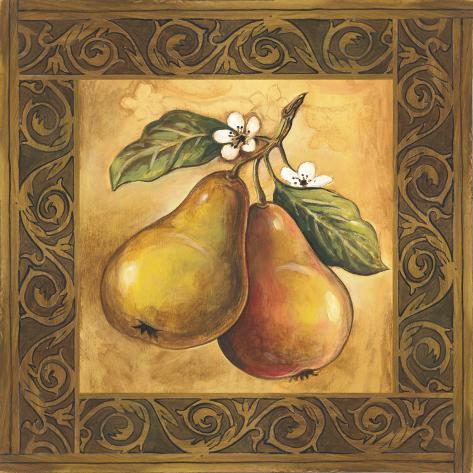 Pear Orchard Art Print