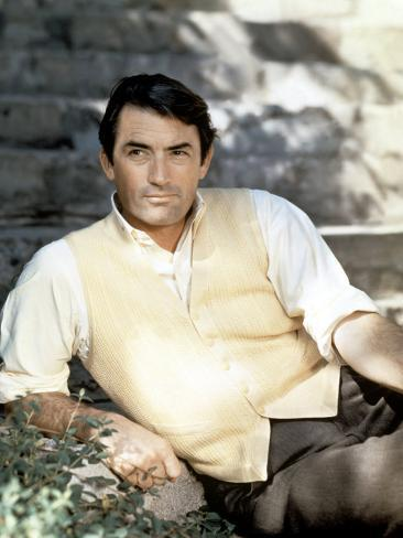 Gregory Peck, Late 1950s Photo