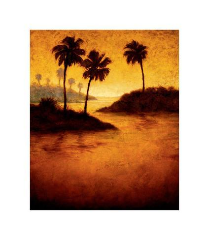 Lagoon II Giclee Print