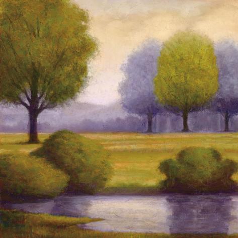 Lavender Sunrise II Art Print