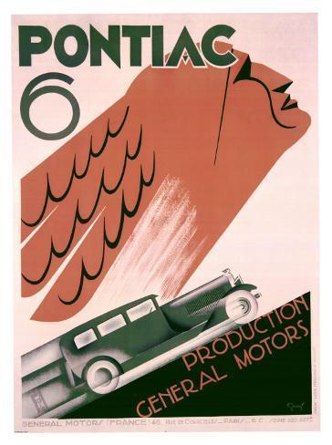 Pontiac 6 Giclee Print