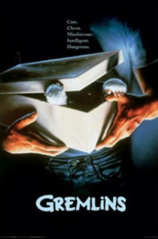 Gremlins Movie (In Box) Poster Print Poster