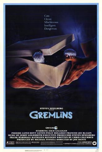 Gremlins Pôster