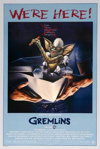 Gremlins Stretched Canvas Print
