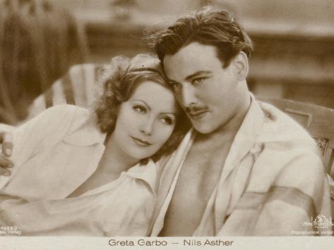 Greta Garbo, Nils Asther Photographic Print