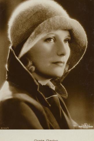 Greta Garbo Fotoprint