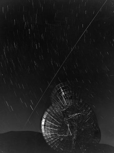 Antenna Bouncing First Message Off Echo I Satellite Photographic Print