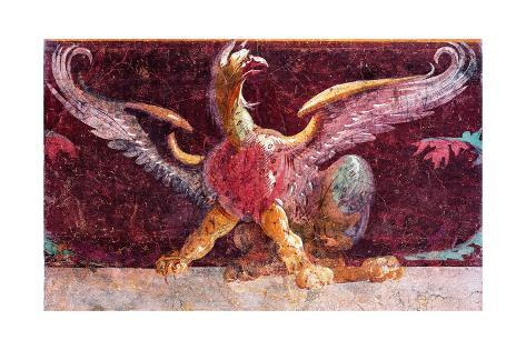 Griffin Symbol Of Goddess Nemesis C50 99 Bc Poster Allposters