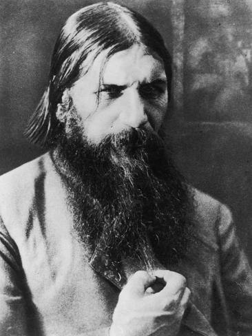 Grigori Rasputin Russian Mystic and Court Favourite in 1908 Photographic Print