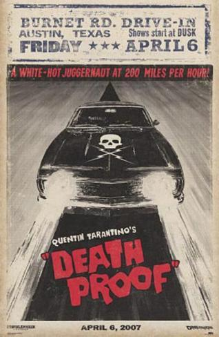 Grindhouse Movie (Death Proof, Car) Poster Print Poster