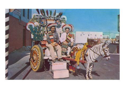Gringos in Tijuana Art Print