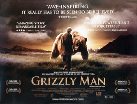 Grizzly Man Póster original