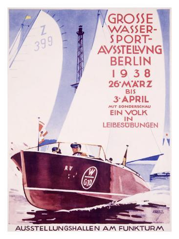 Grosse Wasser Sport Giclee Print