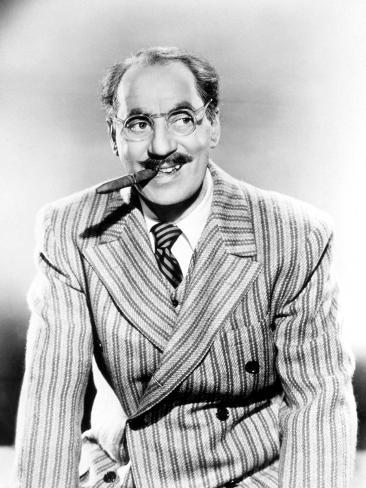 Groucho Marx, 1950 Photographic Print