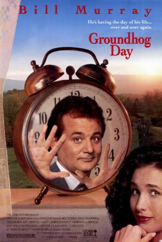 Groundhog Day Masterprint