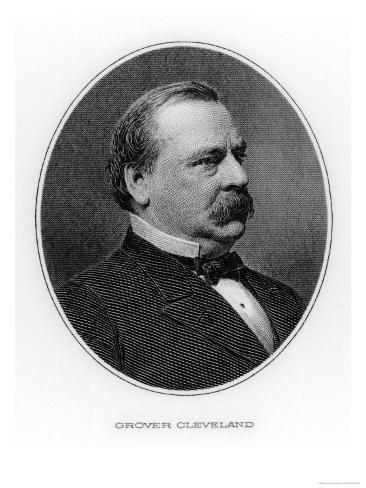 Grover Cleveland 22nd and 24th Us President Giclee Print