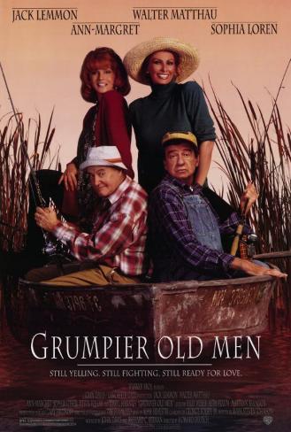 Grumpier Old Men Masterprint