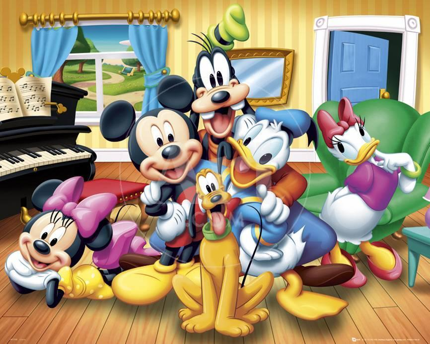 Grupo Disney Lámina en AllPosters.es