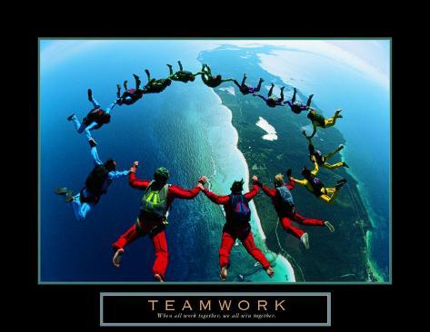 Gruppo di lavoro: skydiver II Stampa artistica