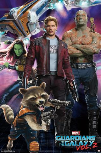 Guardians Of The Galaxy 2 - Group Poster