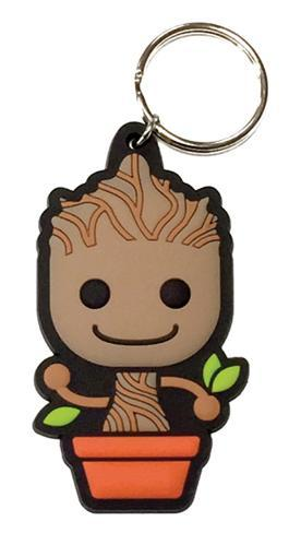 Guardians Of The Galaxy - Baby Groot Rubber Keychain Keychain ...