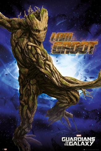 Guardians of the Galaxy - Groot Póster