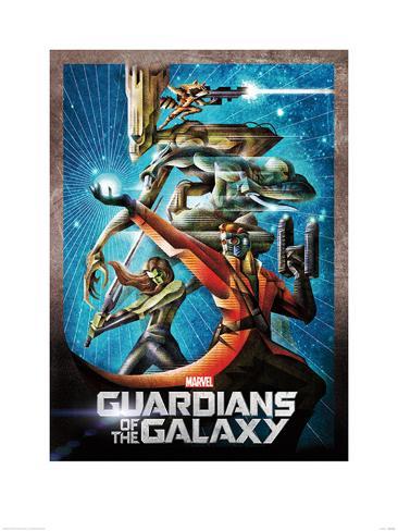 Guardians Of The Galaxy - Orb Art Print