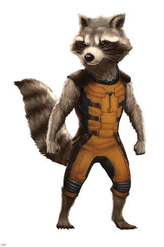 guardians of the galaxy rocket raccoon posters at